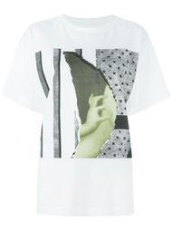 футболка с абстрактным принтом Mm6 Maison Margiela