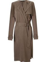 open front trench coat Andrea Marques