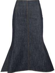 расклешенная юбка с завышенной талией Derek Lam