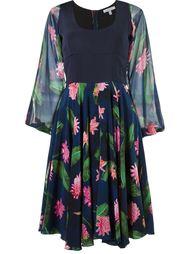 плиссированная юбка с цветочным принтом Isolda