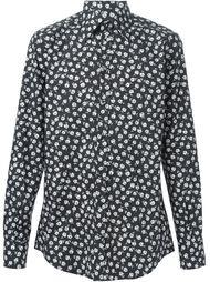 рубашка с цветочным принтом   Dolce & Gabbana