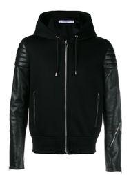 куртка-бомбер с контрастными рукавами Givenchy