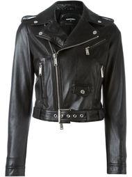 классическая байкерская куртка Dsquared2