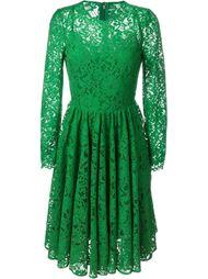 расклешенное кружевное платье Dolce & Gabbana