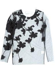 блузка с вышивкой  Marques'almeida