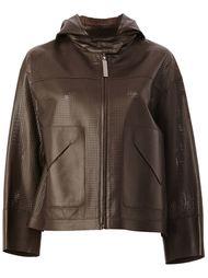 куртка с перфорированным дизайном  Maison Ullens