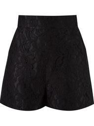 high-waisted lace shorts Martha Medeiros