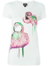 толстовка с принтом фламинго Just Cavalli