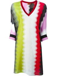 платье-шифт в стиле колор-блок  Missoni