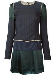 платье с панельным дизайном Maison Margiela