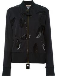 декорированная куртка с пайетками Marni