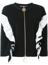 куртка-бомбер с оборками Marni