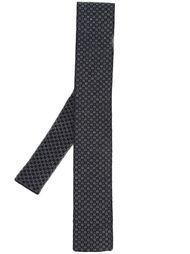 галстук с мелким узором Eleventy