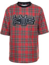 футболка в клетку-тартан  Kye
