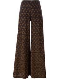 ажурные широкие брюки Missoni