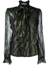 блузка с бантом Jean Louis Scherrer Vintage