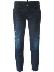 укороченные джинсы кроя скинни Dsquared2