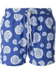 плавательные шорты с принтом морских раковин Capricode