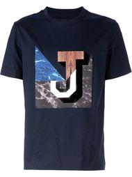 """футболка в мраморный принт """"J"""" Juun.J"""