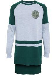 длинный университетский свитер Astrid Andersen