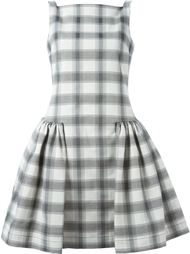 платье в клетку без рукавов Vivienne Westwood Anglomania