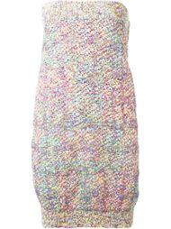 твидовое платье Chanel Vintage