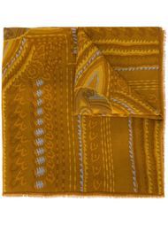 шарф с принтом Lanvin Vintage
