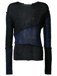 свитер с панельным дизайном  Isabel Benenato