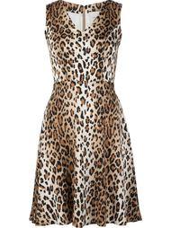 платье с V-образным вырезом Carolina Herrera