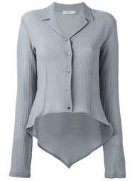 асимметричная рубашка Romeo Gigli Vintage