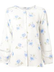 шелковая блузка с цветочным принтом Vilshenko