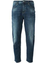 зауженные к низу джинсы  Love Moschino