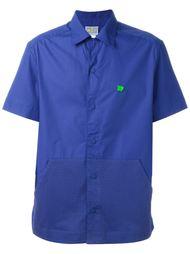 перфорированная рубашка с короткими рукавами Walter Van Beirendonck Vintage