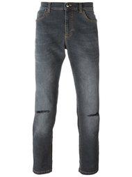 джинсы скинни Versace Collection
