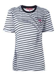 полосатая футболка 'Swallow'  McQ Alexander McQueen