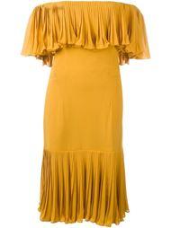 платье с открытыми плечами Jean Louis Scherrer Vintage