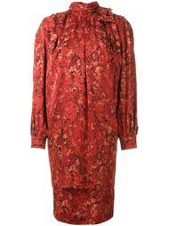 платье с высокой горловиной Nina Ricci Vintage