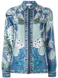 "рубашка с принтом в стиле ""барокко"" Versace Collection"