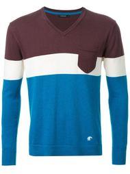 свитер колор-блок  Loveless