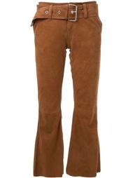 укороченные расклешенные брюки Marques'almeida