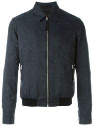 куртка-бомбер с жаккардовым узором черепов Alexander McQueen