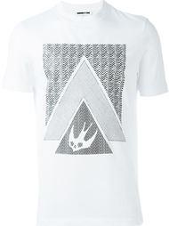 футболка с принтом 'Swallow Glyph' McQ Alexander McQueen
