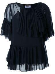 многослойная блузка с оборками Muveil
