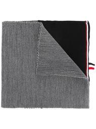 шарф в рубчик Thom Browne