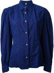 рубашка с цветочным узором  Moschino Vintage