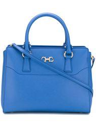 сумка-тоут с двойной пряжкой 'Gancio' Salvatore Ferragamo