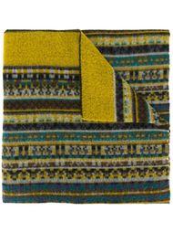 шарф с орнаментом Kenzo Vintage
