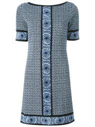 платье-шифт с принтом Michael Michael Kors