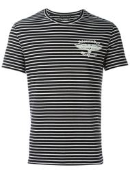 футболка в полоску Alexander McQueen
