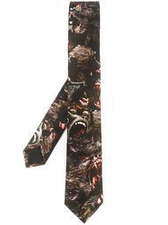 галстук с принтом бабуинов Givenchy